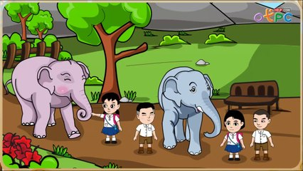 สื่อการเรียนการสอน เพื่อนลูกช้าง ป.1 ภาษาไทย