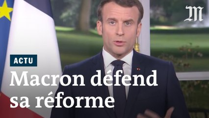 Réforme des retraites : Macron souhaite un « compromis rapide» dans ses voeux 2020