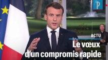 Emmanuel Macron : « La réforme des retraites sera menée à son terme »