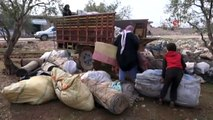 İdlib'den kaçan sivillerin hayatta kalma çabası