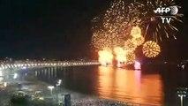 Milhões se reúnem em Copacabana para receber 2020