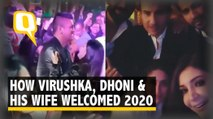 Virushka Celebrates New Year With Saif & Kareena, Dhoni Shakes a Leg With Wife