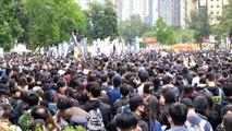 Hong Kongda yeni yılın ilk günü protestolarla başladı (2) - HONG