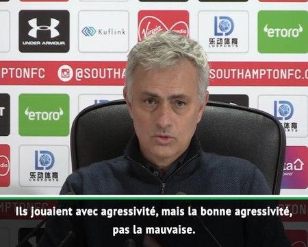 21e j. - Mourinho : ''Les ramasseurs de balle de Southampton ont été bien entraînés''