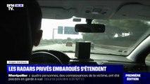 Les radars privés embarqués sont désormais en circulation dans le Centre-Val de Loire, les Pays de la Loire et la Bretagne