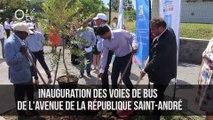 Inauguration voies bus Saint André