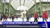 La plus grande patinoire intérieure au monde au Grand Palais enchante Parisiens et touristes
