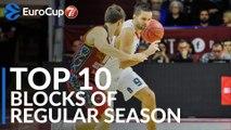 7DAYS EuroCup, Top 10 Blocks of Regular Season!