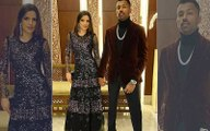 New Year 2020 Hardik Pandya Makes It Official Introduces Girlfriend Natasa Stankovic As His Firework