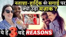 3 Reasons Why People Making Fun Of Hardik Pandya And Natasha Stankovic Engagement
