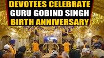 Devotees offer prayers at Golden Temple on Guru Gobind Singh's birth anniversary |  OneIndia News