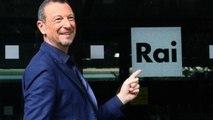 I giornalisti contro Amadeus: il gesto del conduttore di Sanremo 2020 non è piaciuto. Cosa ha fatto