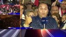تأثر نجوى قاسم على الهواء بسبب مدح متابعي بر