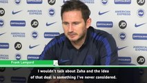 Chelsea not considering Zaha - Lampard