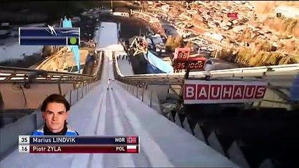 Marius Lindvik - 143,5 m (HILL RECORD) - Garmisch-Partenkirchen 2020