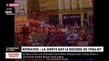 Retraites: C'est la grève la plus longue de l'histoire de la SNCF qui est en train de ce dérouler - Retour sur les précédents mouvements
