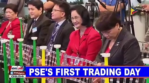 PSE's first trading day