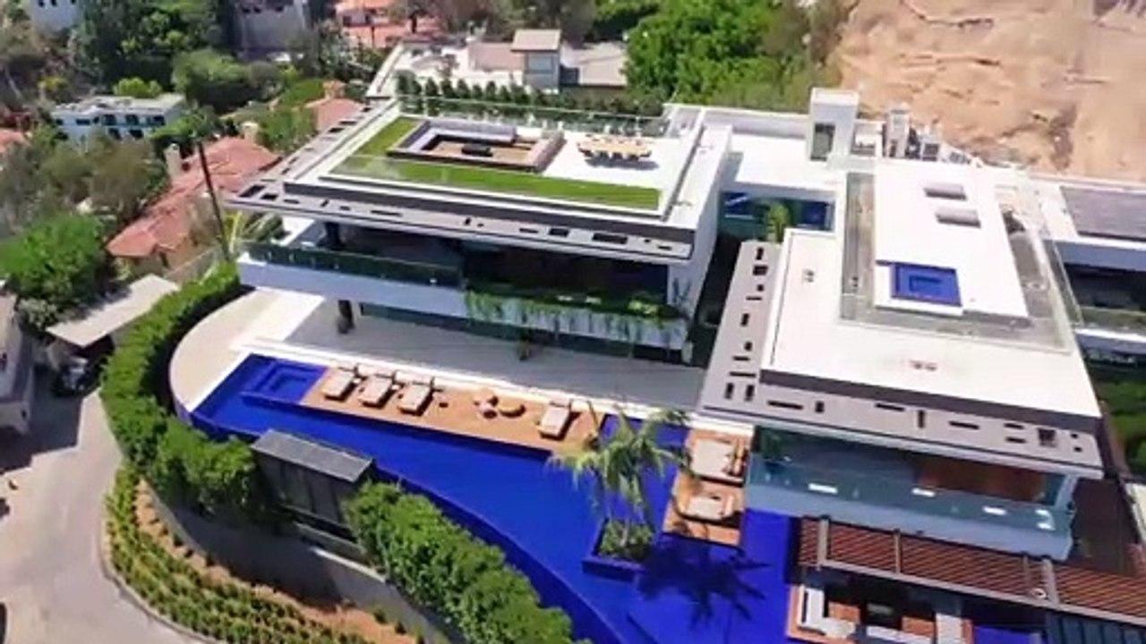 Inside A 43 9 Million Hillside Avenue Mansion Beverly Hills Video Dailymotion