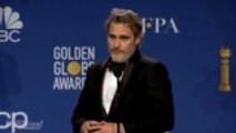 Joaquin Phoenix Talks Best Actor Win for 'Joker' Backstage at Golden Globes 2020