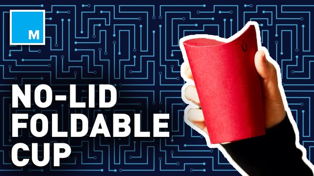 This no-lid, foldable cup could help reduce plastic waste levels — Future Blink