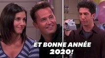 """Dans """"Friends"""", Ross et Rachel avaient enregistré un message à regarder en 2020"""