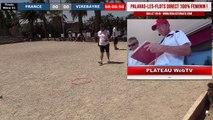 Finale x2 féminin FRANCE vs VIREBAYRE : National doublette à pétanque de PALAVAS 2019