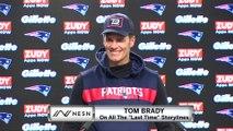 Tom Brady Ignores Last Time Questions Before Titans vs. Patriots