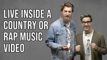 Live Inside A Rap Music Video, Or A Country Music Video? Answer The Internet featuring Rhett and Link from Good Mythical Morning
