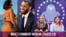 Demi Lovato's empowering IG post caught the attention of Mike from The Bachelorette