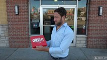 Barstool Pizza Review - Pizza Hut Cheeze-It Pizza