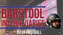 Introducing Barstool Intern Vocumentaries (Video Documentaries) - Billy Football, Pardon My Take