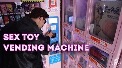 I Found a Sex Toy Vending Machine   Whoa! That's Weird