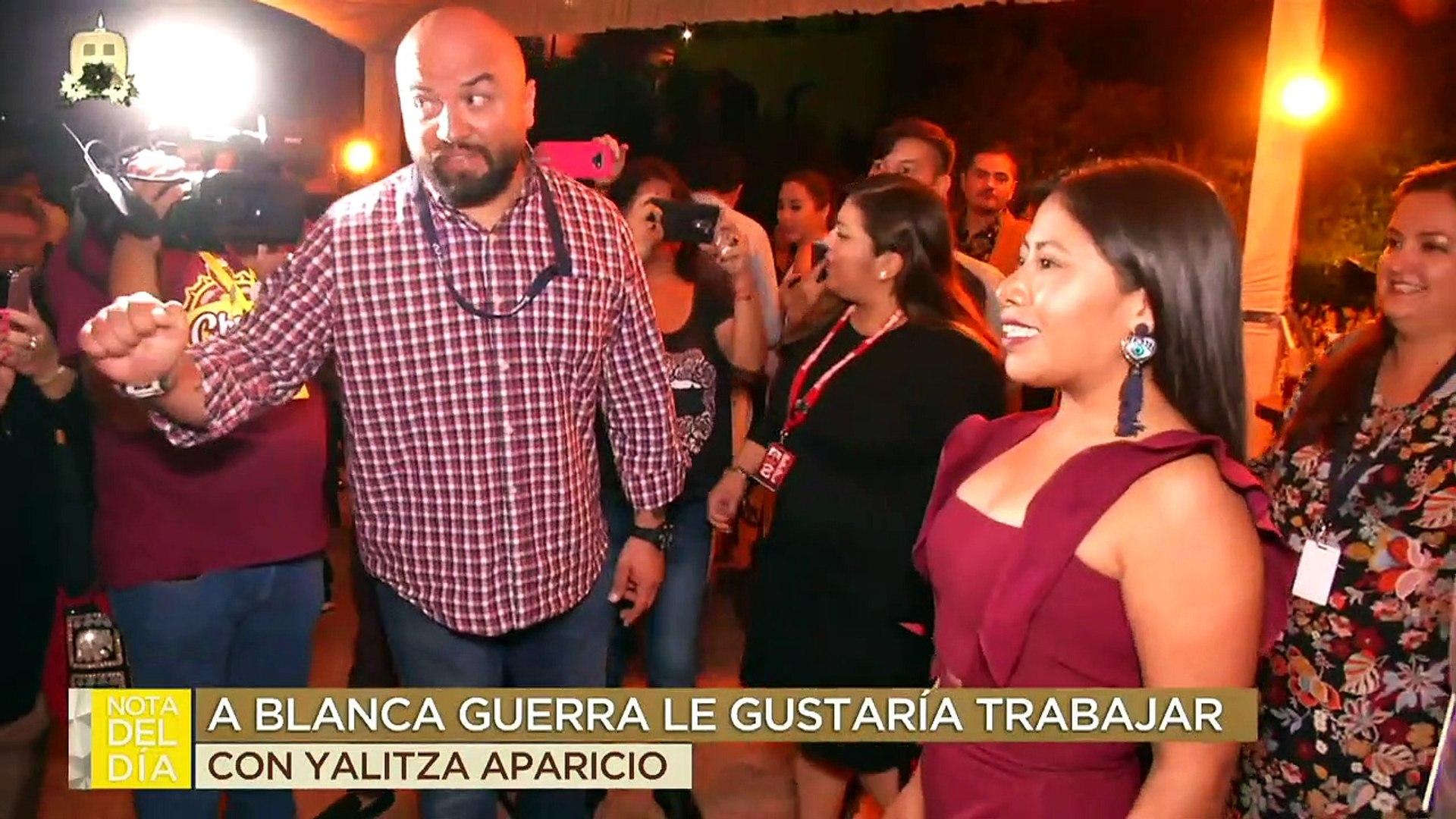 ¡Blanca Guerra confiesa que le gustaría trabajar con Yalitza Aparicio! | Ventaneando