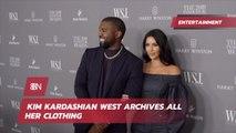 Kim Kardashian West Saves Every Fashion Item