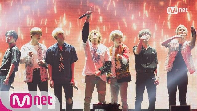 [KCON 2016 NY×M COUNTDOWN] 방탄소년단 (BTS) _ 불타오르네 (FIRE)