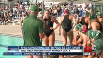 KHSD considering adding water polo as a sport