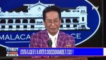 Palasyo: Paghahain ng estafa case vs water concessionaires, tuloy