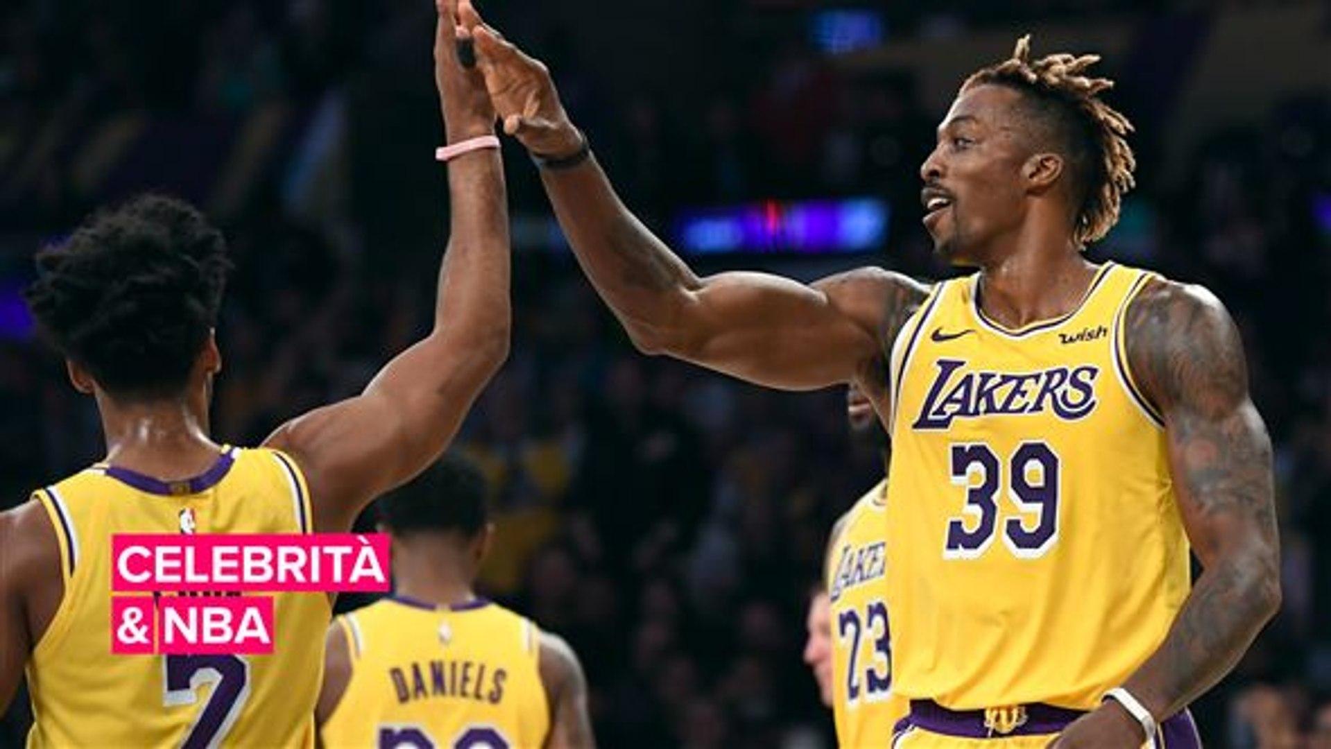NBA e le celebrità a bordo campo