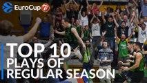 7DAYS EuroCup, Top 10 Plays of Regular Season!
