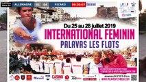 Huitième féminin ALLEMAGNE vs FRANCE : National doublette à pétanque de PALAVAS 2019