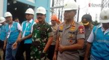 Video Panglima TNI dan Kapolri Kunjungi Gardu Induk PLN Kembangan yang Terendam Banjir