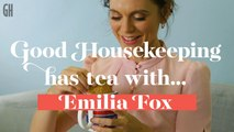 Good Housekeeping has tea with Emilia Fox