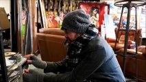 Montbéliard : l'artiste peintre Christophe Monnin est aussi chanteur
