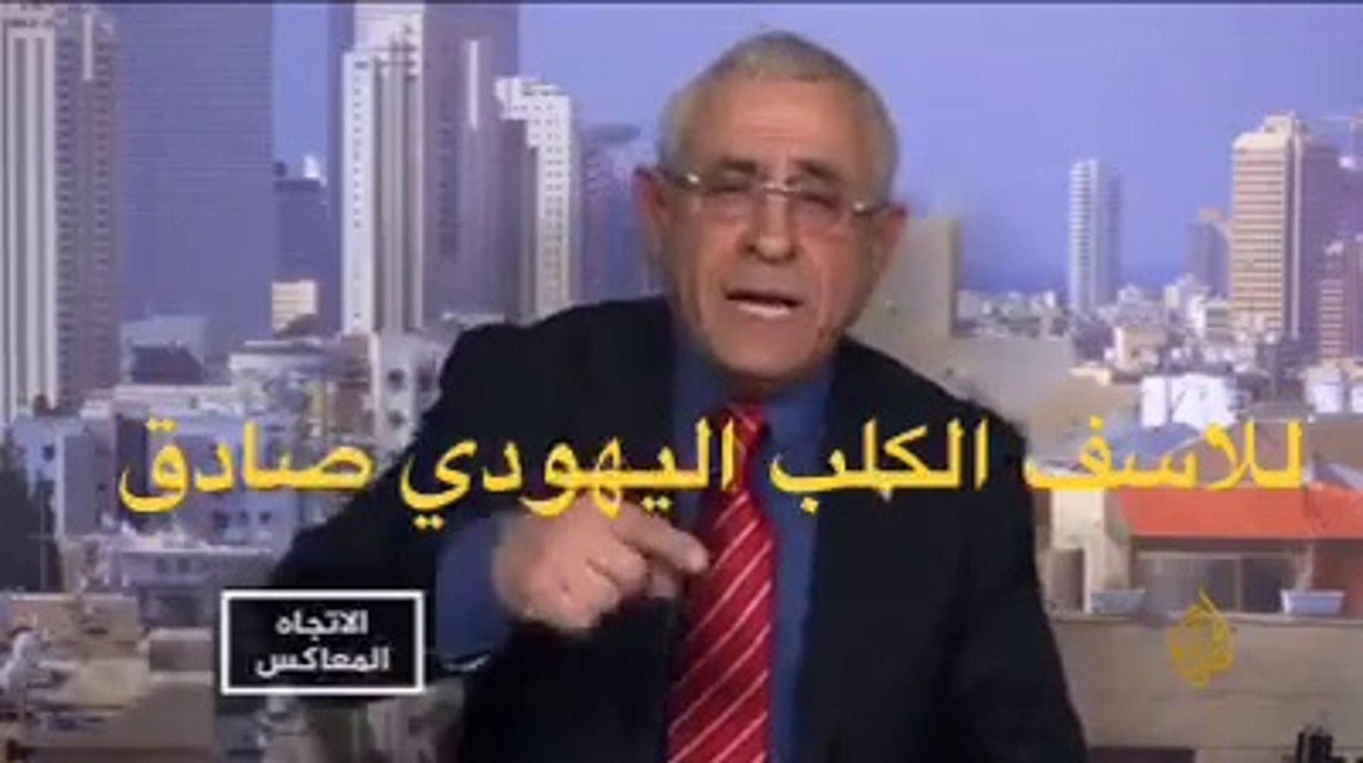 شاهد مادا يقول هدا اليهودي   عن العالم العرابي