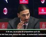 """Milan - Ibrahimovic : """"En 2012, je ne voulais pas partir"""""""