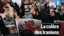 Mort du général Soleimani : des milliers d'Iraniens manifestent à Téhéran