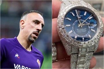 Une Rolex en diamants à 120 000€ pour Franck Ribery