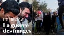Après la mort du général Soleimani, la guerre des images est déclarée entre les Etats-Unis et l'Iran
