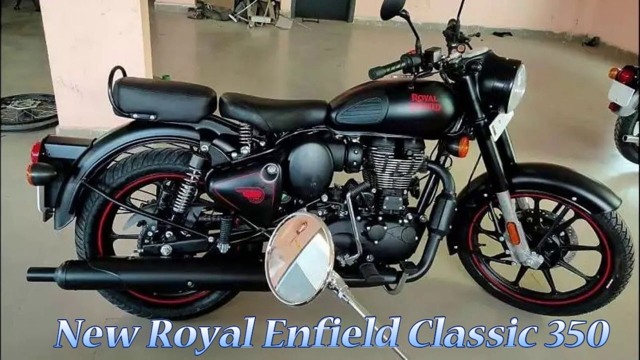 2020 Royal Enfield Classic 350 Bs6 With Matte Black Gunmetal Grey Colour Spotted Price Features Video Dailymotion