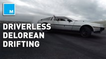 Engineers taught this driverless DeLorean to drift and it could make future autonomous vehicles safer